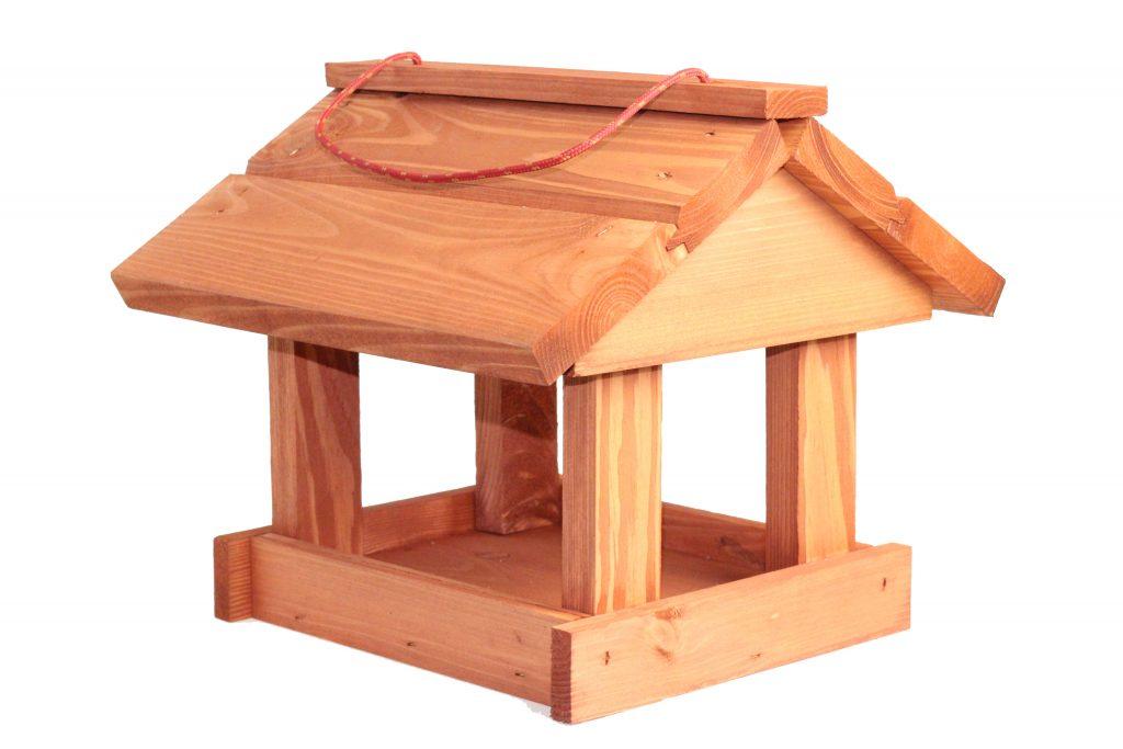 Karmnik dla ptaków - brązowy